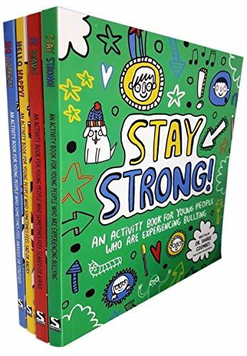 Sharie Coombes Mindful Kids 4 Activity Books Collection Set (Be Brave, Stay Strong, Hello Happy!, No Worries)