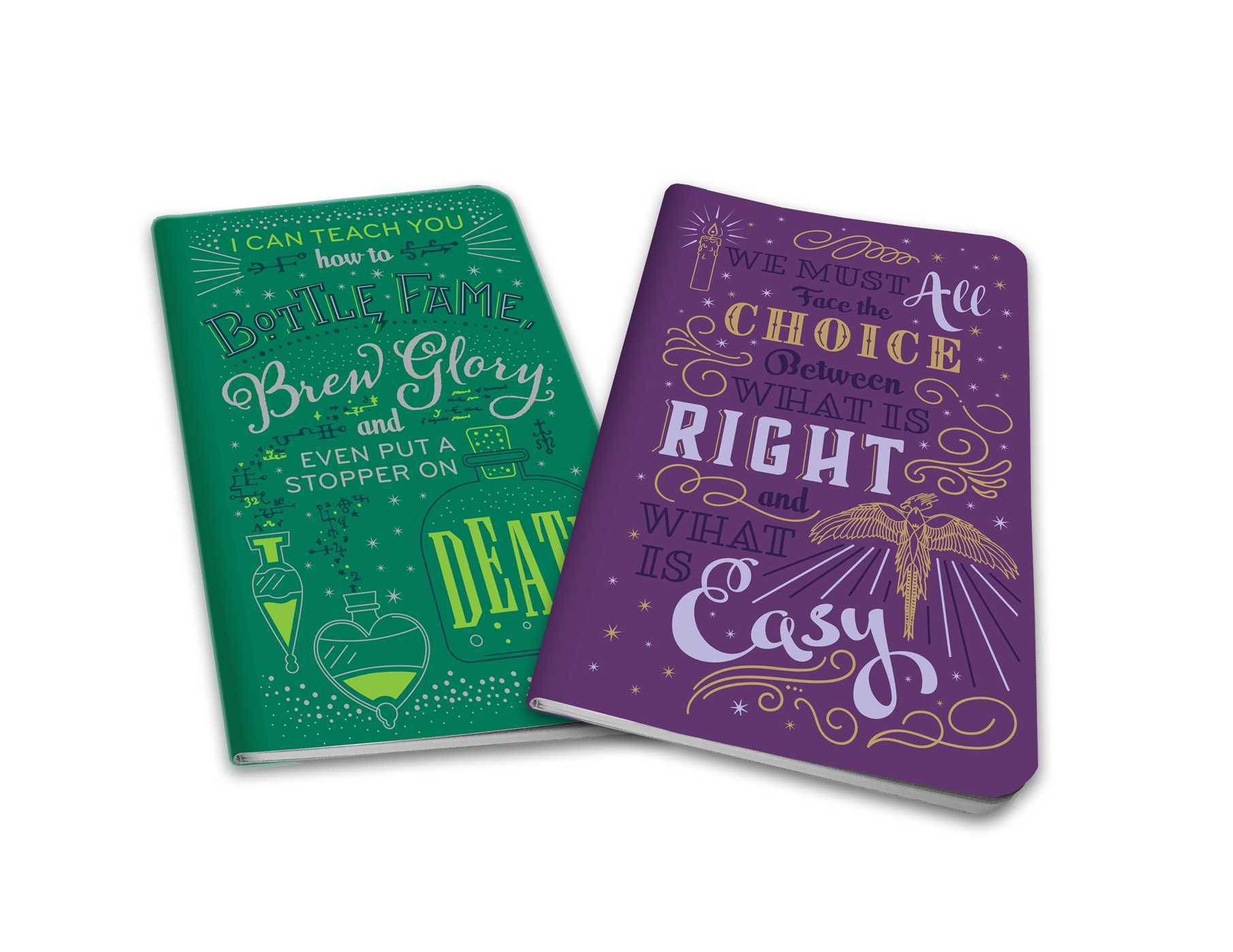 Harry Potter: Character Notebook Collection (Set of 2): Dumbledore and Snape