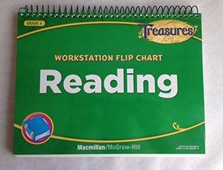 Treasures. Workstation Flip Chart: Reading - Grade 4