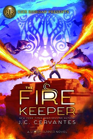 The Fire Keeper (The Storm Runner #2)