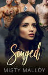 Singed: A Reverse Harem Dragon Shifter Romance (The Orestaia Series Book 2)