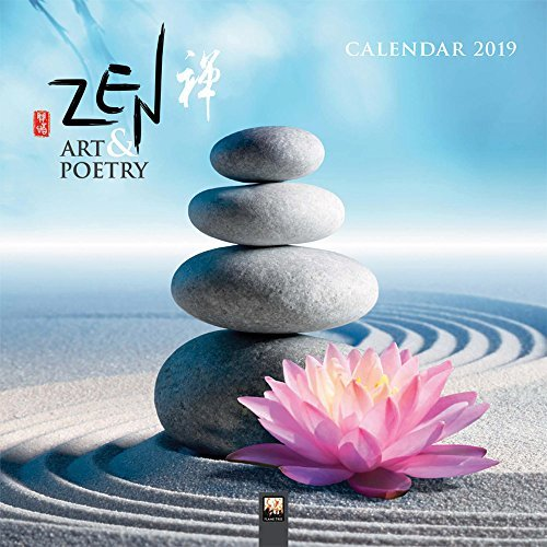 Zen Art & Poetry Wall Calendar 2019