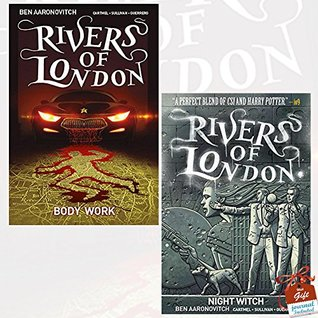 Rivers of London Collection 2 Books Bundle With Gift Journal