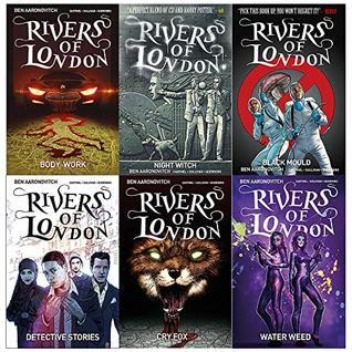 Rivers of london series (vol 1-6) ben aaronovitch collection 6 books set