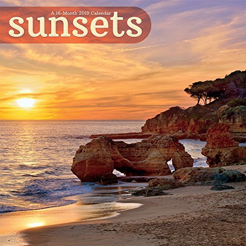 2019 Sunsets Wall Calendar