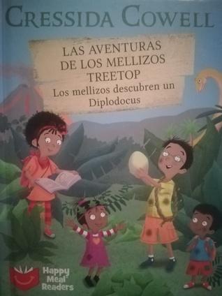 Las aventuras de los mellizos Treetop. Los mellizos descubren un diplodocus