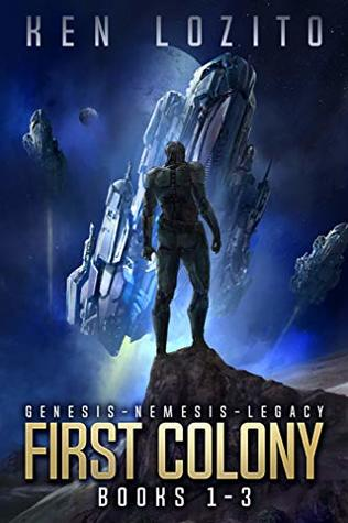 First Colony: Books 1 - 3