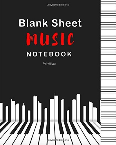 Blank Sheet Music Notebook: 100 Pages of 12 Stave - Music Manuscript Paper Standard.