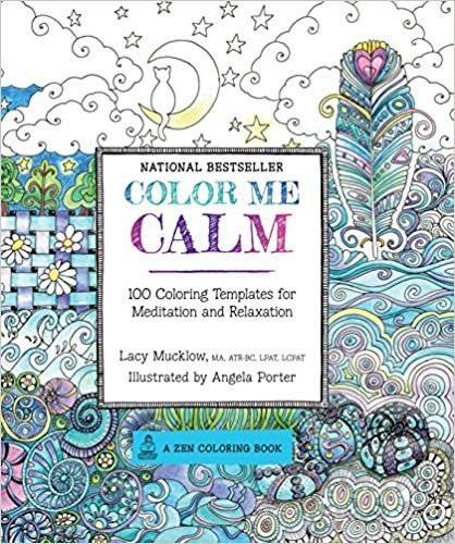 Color Me Series 3 Book Color Me Calm: 100 Coloring Templates for Meditation and Relaxation,Color Me Happy: 100 Coloring Templates That Will Make You Smile, Color Me Stress-Free: Nearly 100 Coloring Te