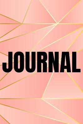 Polygonal Abstract Geometric Background Lined Writing Journal Vol. 34: Promoting Creativity Through Journaling...One Day at a Time