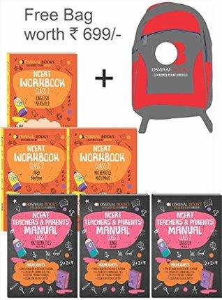 Oswaal NCERT Workbook with Teachers & Parents Manual Class 2 (Set of 6 Books ) Math Magic, English Marigold, Hindi Rimjhim, Environmental Studies ... March 2019 Exam) (Free Bag worth INR 699)
