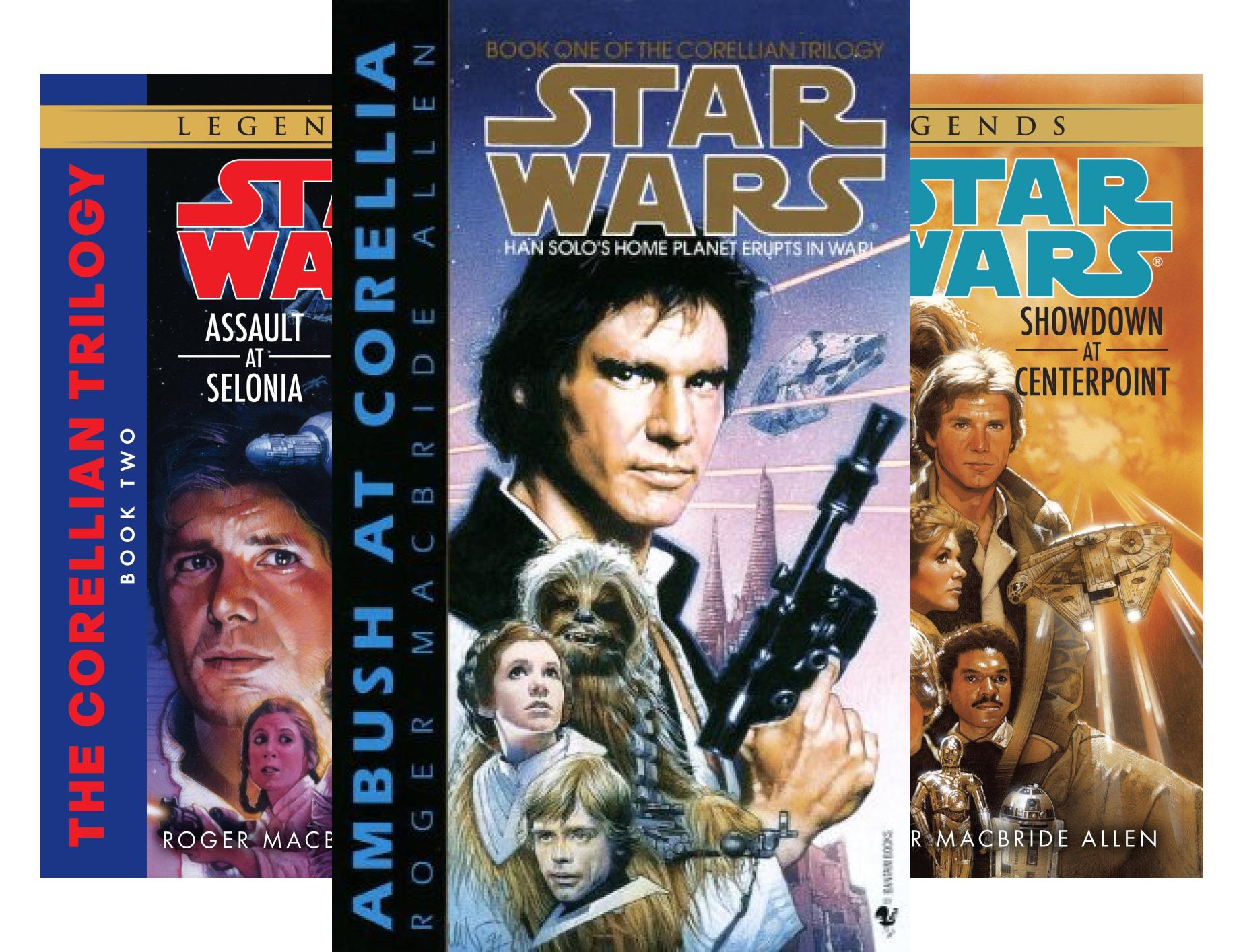 Star Wars: The Corellian Trilogy - Legends (3 Book Series)