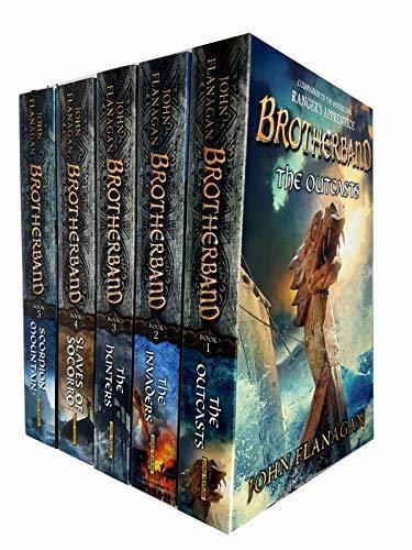 brotherband chronicles john flanagan collection 6 books set