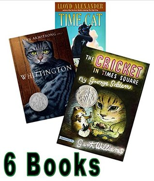 Book Sets for Kids (Grade 4-7): Cricket in Time Square; Whittington; Time Cat; the Remarkable Journey of Prince Jen