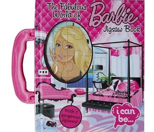 The Fabulous World of Barbie Jigsaw Book