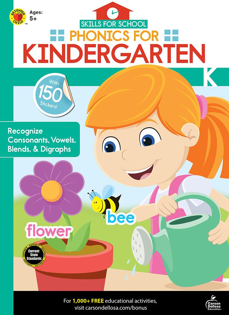 Skills for School Phonics for Kindergarten