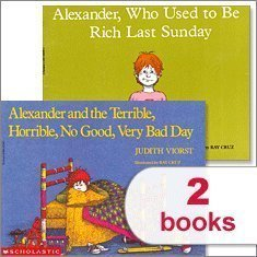 Alexander Pack (2 Books) (Alexander and the Terrible, Horrible, No Good, Very Bad Day; Alexander, Wh