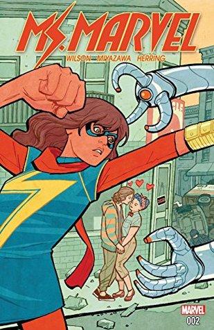 Ms. Marvel (2015-2019) #2