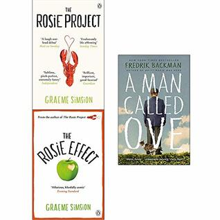 Rosie Project, Rosie Effect, A Man Called Ove 3 Books Collection Set