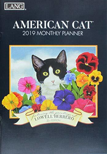 American Cat 2019 Monthly Planner