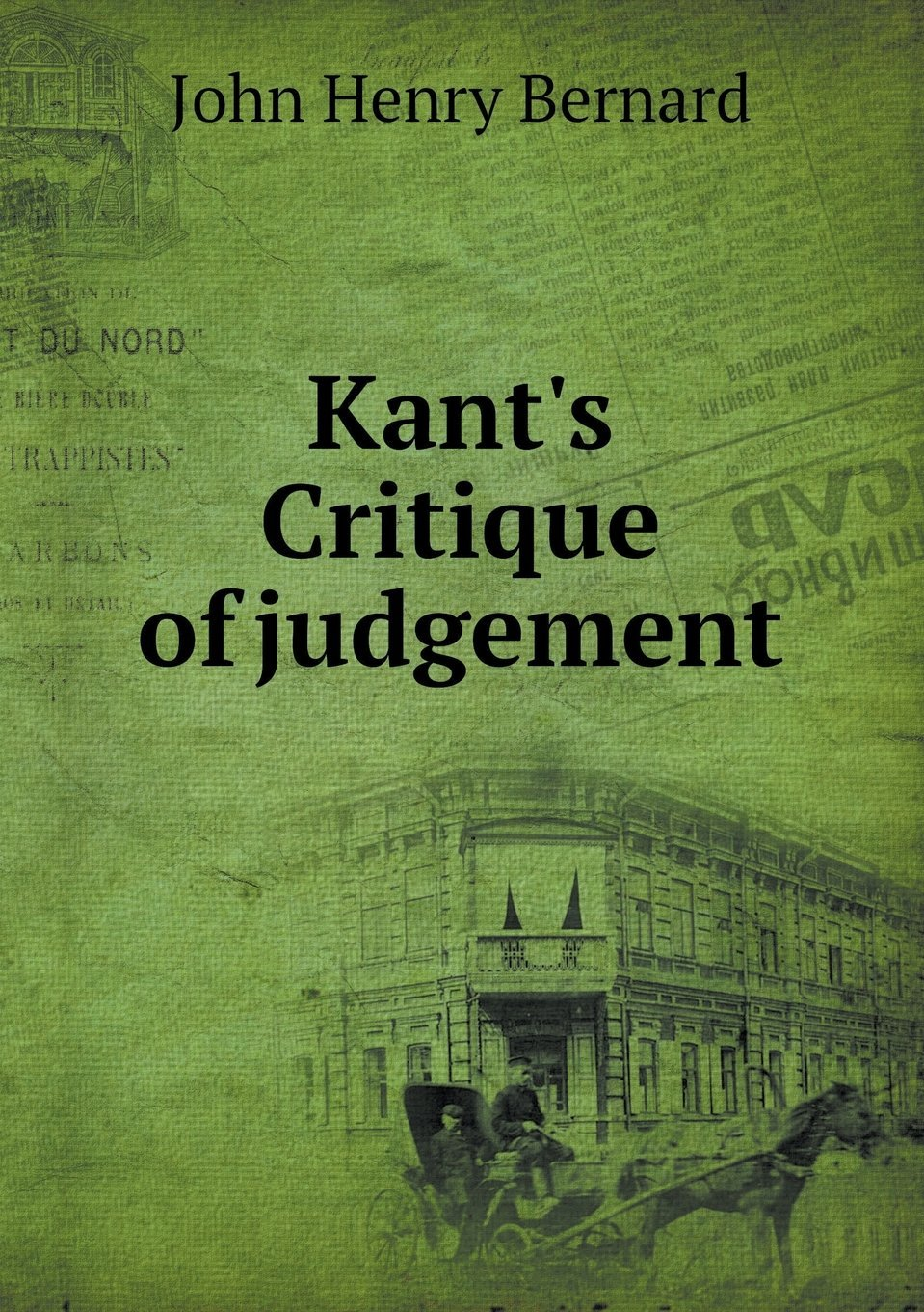 Kant's Critique of Judgement