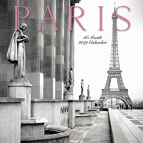 Paris 2019 Mini Wall Calendar
