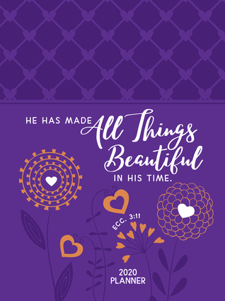 All Things Beautiful (2020 Planner): 16-month weekly planner (ziparound)