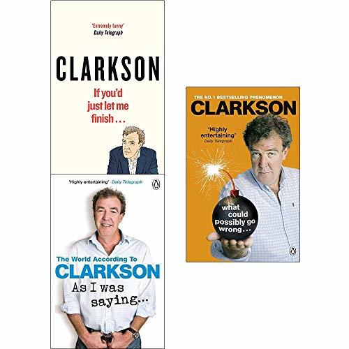 Jeremy Clarkson Collection 3 Books Set
