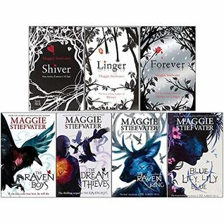 Maggie Stiefvater Collection Wolves of Mercy Falls And Raven Cycle Series 7 Books Set