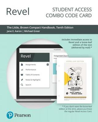 The Little, Brown Compact Handbook [with Revel Code]