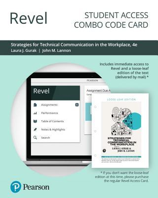 Revel for Strategies for Technical Communication in the Workplace -- Combo Access Card