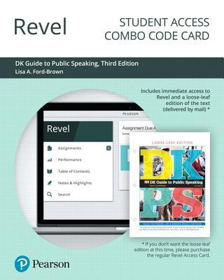 Revel for DK Guide to Public Speaking -- Combo Access Card