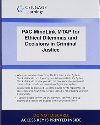 LMS Integrated for MindTap Criminal Justice, 1 term (6 months) Printed Access Card for Pollock's Ethical Dilemmas and Decisions in Criminal Justice, 9th