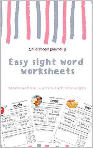 Easy sight word worksheets : Homeschool Curriculum Packages: The ...