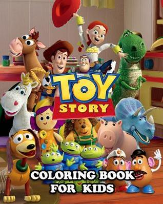 Toy Story Coloring Book for Kids: Great Activity Book to Color All ...