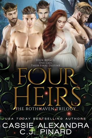 Four Heirs: A Reverse Harem Fantasy (Rothhaven Trilogy #3)