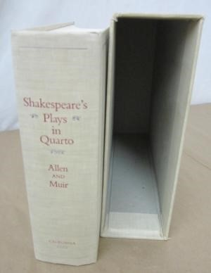 Shakespeare's Plays in Quarto, A Facsimilie Edition of Copies Primarily from the Henry E. Huntington Library