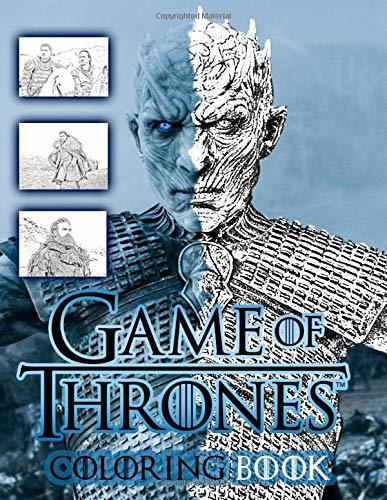 Game of Thrones Coloring Book: from season 7