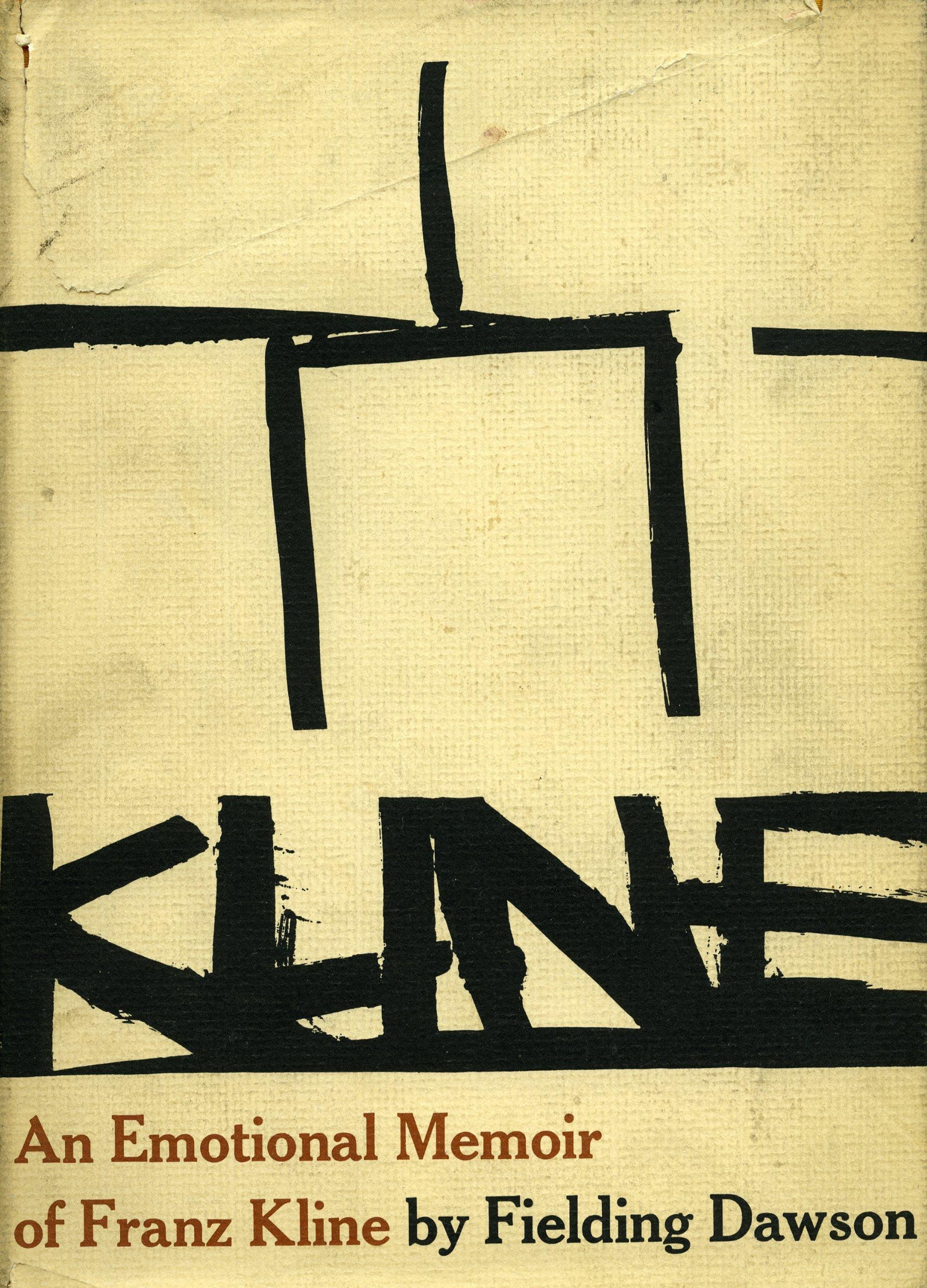 Franz Kline: An Emotional Memoir
