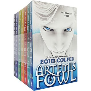 Artemis Fowl x7 set