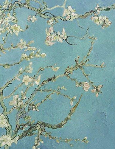 600 Page Sketchbook: Vincent Van Gogh Almond Blossom Art Journal for Doodling and Sketching