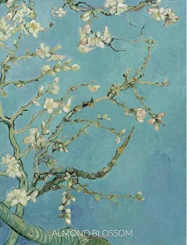 Almond Blossom: 8.5 x 11, 150 Page Unlined & Lined Journal Notebook Diary Sketchbook Van Gogh Cover