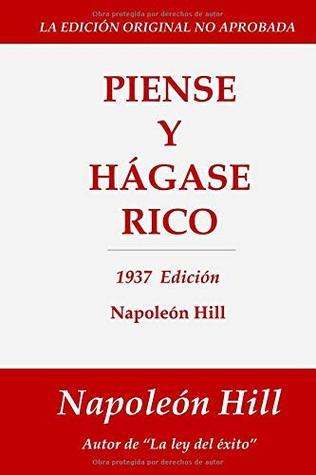 Piense y Hágase Rico: 1937 Edición