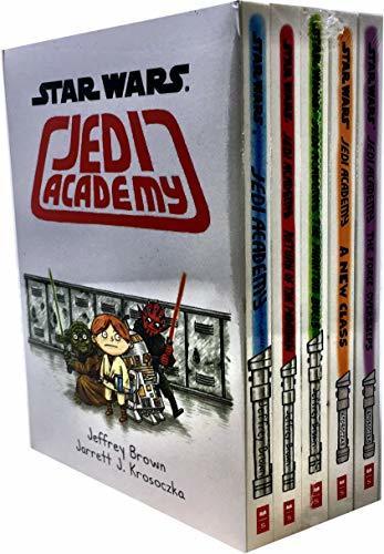 Star Wars Jedi Academy 5 Books Collection Set
