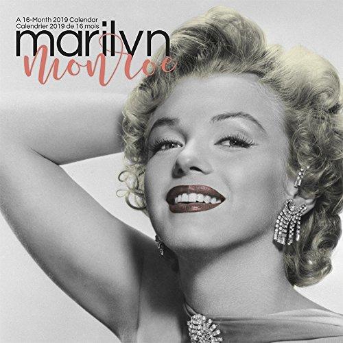 2019 Marilyn Monroe (Bilingual FRE) Wall Calendar