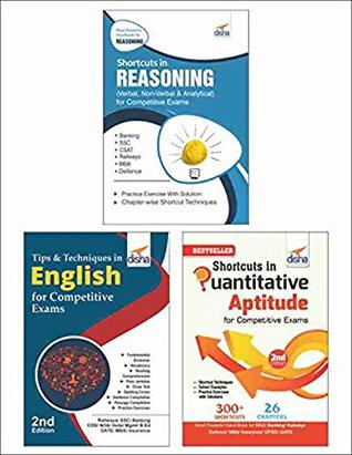 Shortcuts & Tips in Quantitative Aptitude/ Reasoning/ English for Competitive Exams 2nd Edition