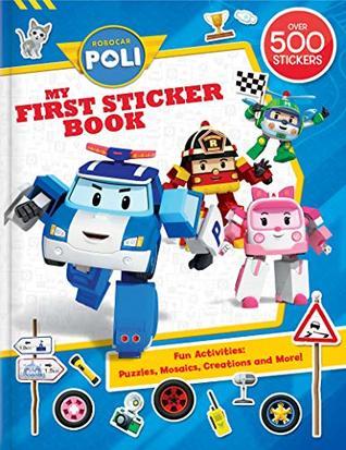 Robocar Poli: My First Sticker Book