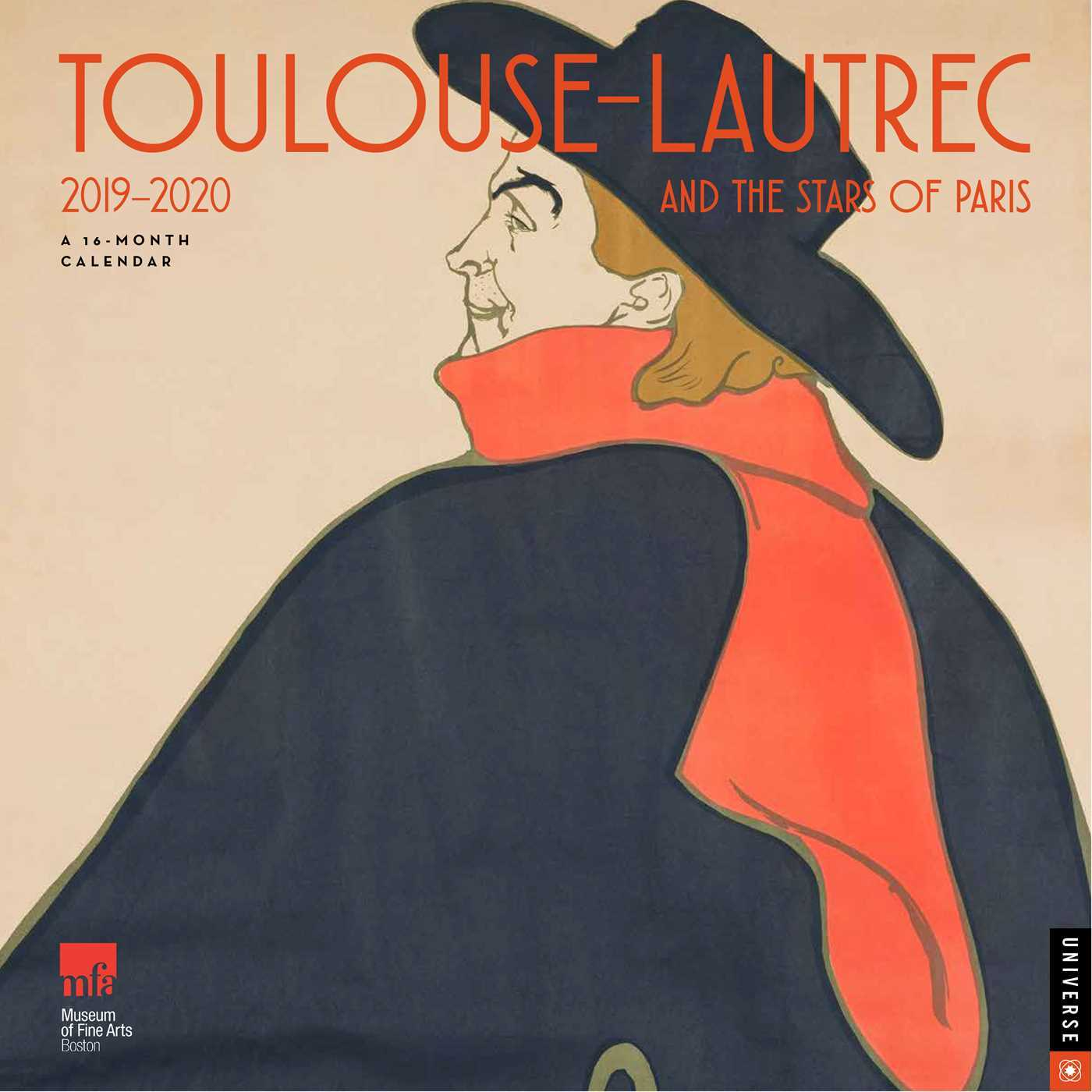 Toulouse-Lautrec and the Stars of Paris 2019-2020 16-Month Wall Calendar