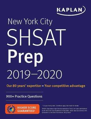 New York City SHSAT Prep 2019-2020: 900+ Practice Questions