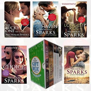 Nicholas Sparks Collection 5 Books Bundle Collection Gift Wrapped Slipcase Specially For You